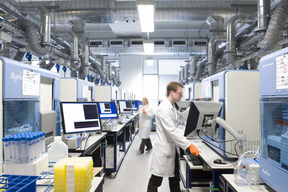 New Sequencing Laboratory Schofield Lothian